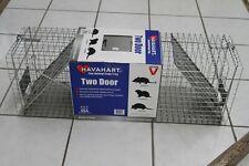 New Havahart 1045 Armadillos Cat Opossums Live Animal Trap Cage 2 door lg