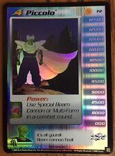 PICCOLO  FOIL  LV4 P2  PRIZE CARD  Dragon Ball Z TCG CCG NM