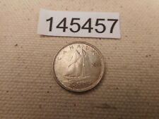 1943 Canada Ten Cents - Very Nice Unslabbed Collector Grade Coin - # 145457