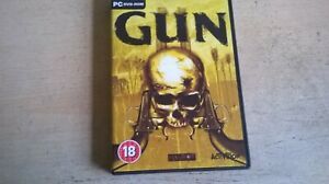 GUN - WESTERN GTA SHOOTER ON A HORSE PC GAME - ORIGINAL & COMPLETE WITH MANUAL