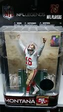 JOE MONTANA #16  CHASE FIGURE SF49ERS McFARLANE NFL LEGENDS SERIES TRUE