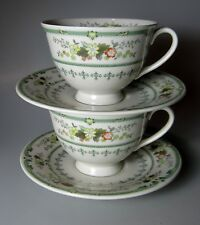 Royal Doulton Provencal Tc1034 (SET OF 2) CUP & SAUCER SETS