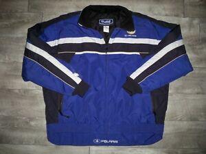 Polaris Pure Edge Snowmobile Sled Insulated Racing Men's Jacket Coat Size XLarge