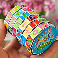 Children Kids Mathematics Cube Puzzle Education Learning Maths Toy Gifts Hot