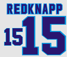 Euro 1996 Redknapp 15  England Home Football Name set for National shirt