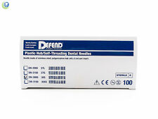 Dental Sterilized Disposable Injection Needles 30G Short (0.31 X 21mm) 100Box