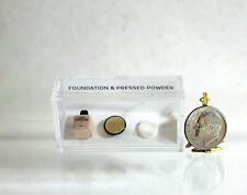 Dollhouse Miniature Foundation Bottle & Powder Compact Set by Itsy Bitsy Mini