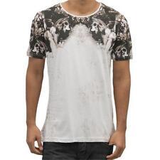 Individualisierte Skull Herren-T-Shirts mit Rundhals-Ausschnitt