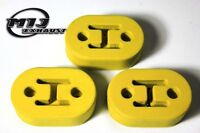 3 x Heavy Duty Exhaust Rubber Mounts to fit Land Rover Freelander Defender