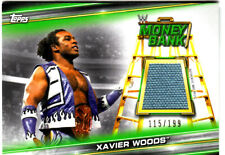 XAVIER WOODS  2019 Topps WWE Money in the Bank  Event Used Mat relic  FREE S/H