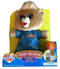 Teddy Ruxpin Hug N Sing Interactive Stuffed Bear Toy Exclusive Free Shipping