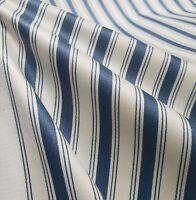 Vintage Mattress Ticking Upholstery Fabric Premium Heavy Cotton Twill BTY