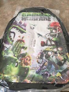 Plants vs. Zombies  Garden Warfare Zipper Schoolbag Student Backpack Travel Bag
