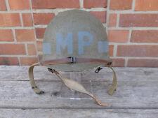 #354 US M1C WW2 Paratrooper MP Helmet Military Police Stahlhelm Airborne