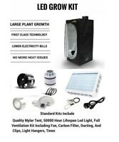 LED Grow Tent Kit, Complete LED Indoor Growing System, 60x60x140 Grow Tent