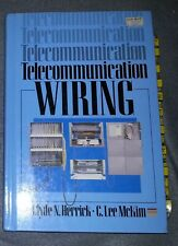 Telecommunication Wiring by Clyde N. Herrick & C. Lee McKim (HC)