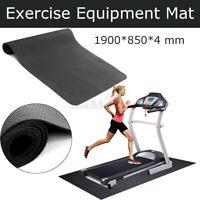190cm Exercise Mat Gym Equipment Go Fit For Treadmill Bike Protect Floor Yoga