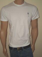 MEN POLO RALPH LAUREN T-SHIRTS CREW NECK AND V-NECK S,M,L,XL,XXL STANDARD FIT