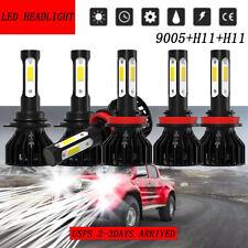 6x 4sides LED Headlight Hi/Lo Beam&Fog Light Kits For GMC Terrain 2010-2015