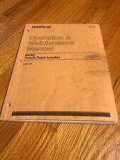 Genuine CAT Caterpilar 963C Track Loader Operators Manual