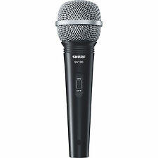 "Shure SV100-W Dynamic Multi-Purpose Microphone with 1/4"" Cab"