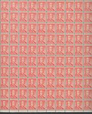 SCOTT #1030   SHEET FRANKLIN  1/2 CENT    MNH