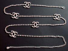 One Row Designer Crystal Rhinestone Belt Belly Chain