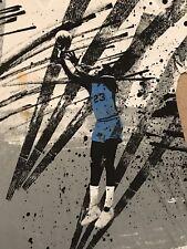 RARE VINTAGE Nike Air Jordan North Carolina Final Shot T-Shirt Men's Size XXL
