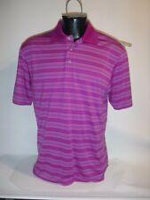 #9121 Pga Tour Ss Polo Golf Shirt Men'S Large Exc. Preowned