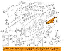 AUDI OEM 12-17 A6 Quattro Front Door-Insert Panel Left 4G0867409L1NK