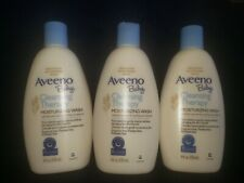 3 Aveeno Baby Cleansing Therapy Moisturizing Wash