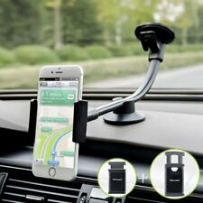 Car Phone Mount, Newward 2 Clamps Long Arm Universal Windshield Dashboard