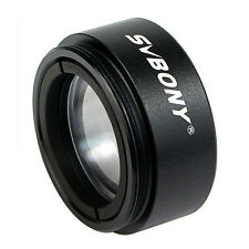 """New 1.25"""" Telescope 0.5 Focal Reducer Threads M28.0x0.6 for 31.75mm Eyepiece Us"""