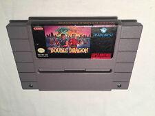 Super Double Dragon (Super Nintendo SNES) Tradewest Game Cartridge Excellent!