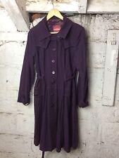 Women's Nomads Fair Trade Organic Pixie Made Purple Coat Vegan Large (1360)