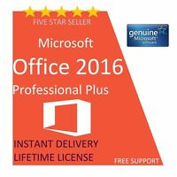 Genuine Microsoft Office 2016 Professional Plus Product Key & Download Link FH