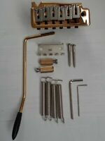 Wilkinson Tremolo Set Wv2, Strat Style, Gold Plated, For Electric Guitar