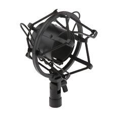 Mikrofonspinne Mikrofon Spinne Shock Mount Studio Mikrofonhalter Schwarz