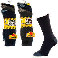 New 12 Pairs Mens Ultimate Work Boot Sock Size 6-11 Cushion Sole Reinforced PATS