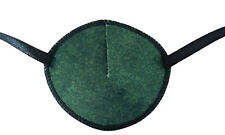 Green/Black - Medical Adult Eye Patch Soft Washable sold to NHS