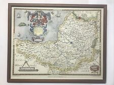 More details for saxton's map of somerset. 1575