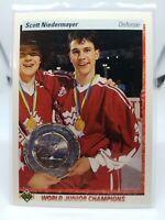 1990-91 Upper Deck Scott Niedermayer #461 Rookie HOF MINT CONDITION