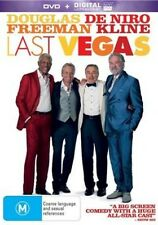 LAST VEGAS Robert De Niro Morgan Freeman DVD + Digital Ultraviolet NEW
