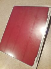 Apple Ipad Smart Cover Red Leather for Ipad 2 MC950LL/A Genuine