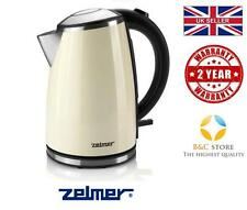~ NEW Electric Kitchen ZELMER Kettle CK1020 Cream boil rapid hot water @