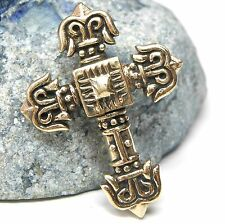Neu BRONZE Anhänger Keltisch KREUZ Keltenkreuz KETTENANHÄNGER für Ketten