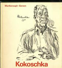 Oskar KOKOSCHKA 80th Birthday Rare 1966 Exhibition Catalogue Marlborough-Gerson