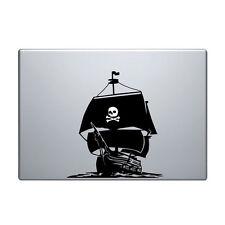 """Macbook Aufkleber Sticker Decal skin Air Pro 11"""" 13"""" 15"""" 17"""" pirat schiff boot"""