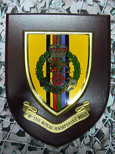 Regimental Plaque / Shield - Hampshire Regiment