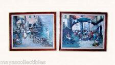 "Guido Antonio Mantovani oil on canvas signed 2 pcs pair Italy Europe 23"" X 19"""